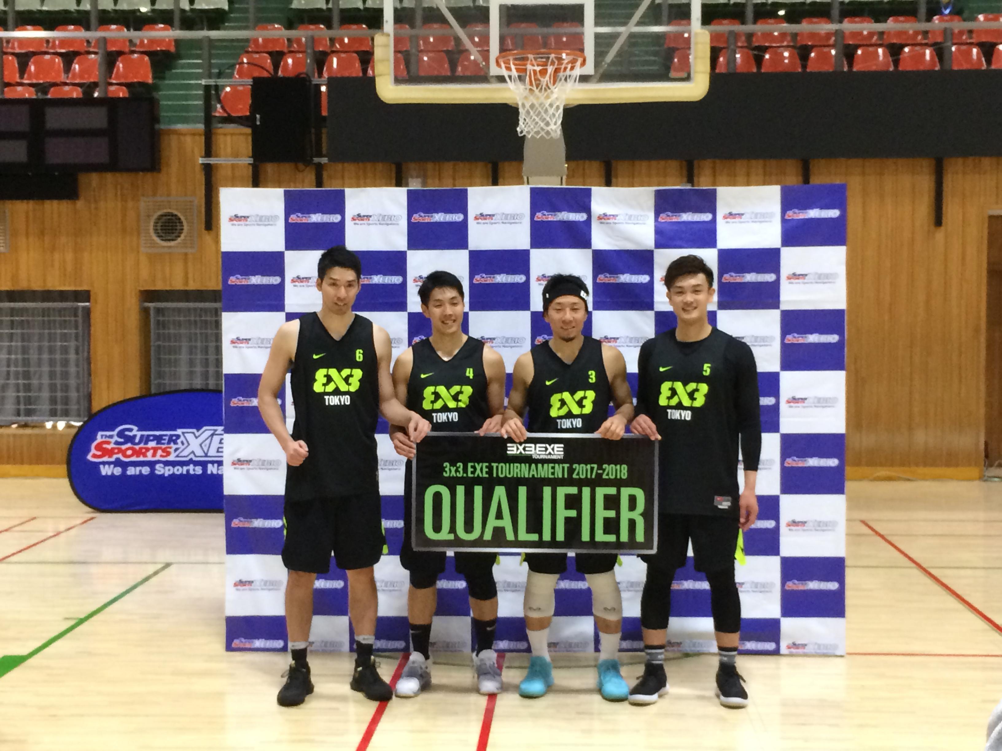 1日6試合を勝ち切ったTEAM TOKYO、3×3代表候補が最低限の結果を残す